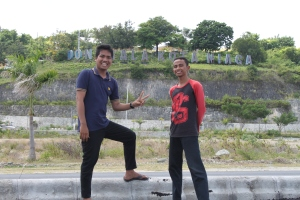 with Aman lagi